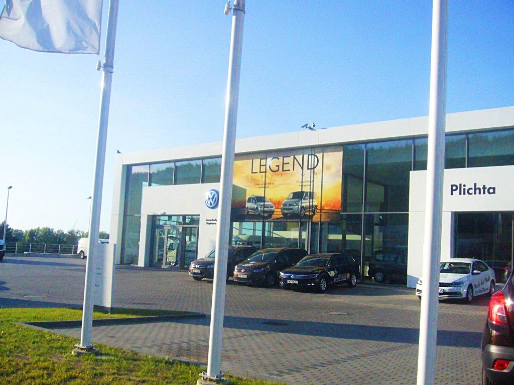 Salon Volkswagen Plichta w Gdyni