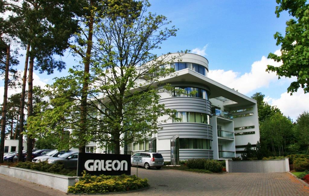 Hala produkcyjna stoczni jachtowej Galeon w Straszynie