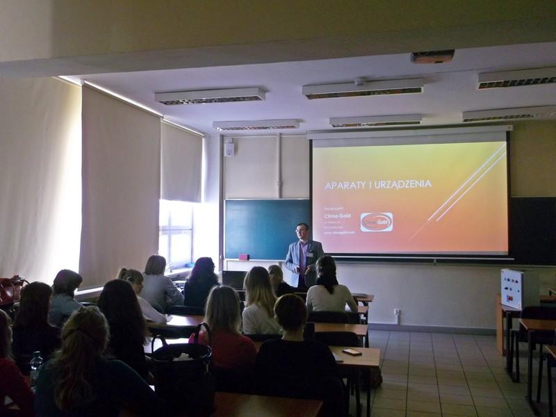 Wykład na Politechnice Łódzkiej