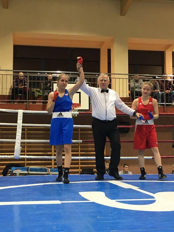 Weronika Pawlak – młody talent polskiego boksu