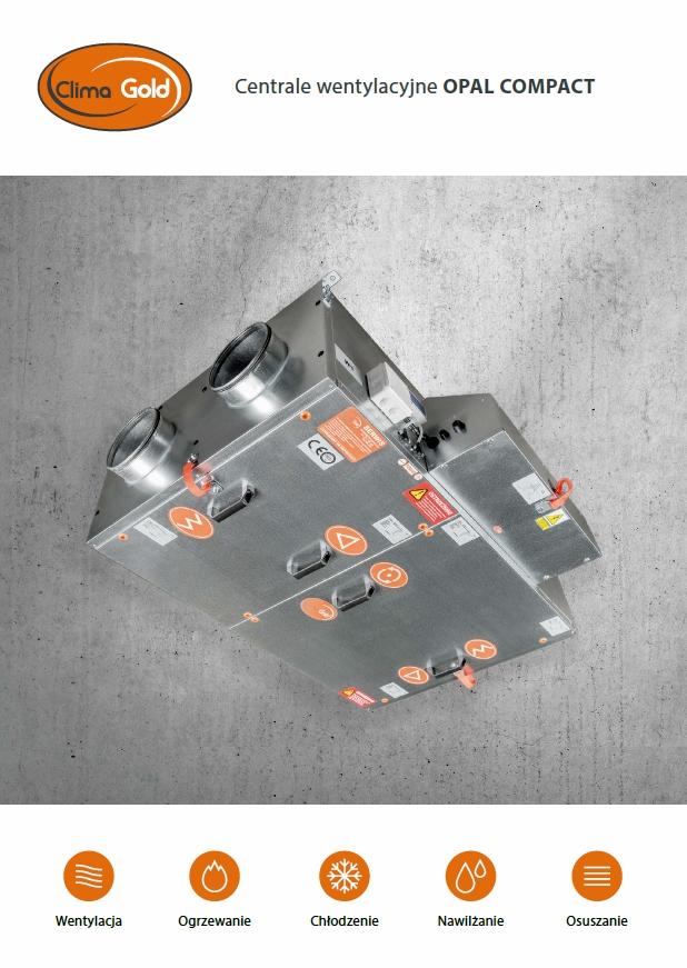 Opal Compact – nowe kompaktowe urządzenie w ofercie Clima Gold