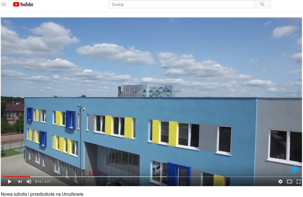 Nowa szkoła i przedszkole na Umultowie z urządzeniami Clima Gold