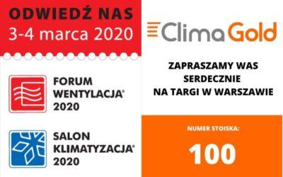 FORUM WENTYLACJA 2020 – przed nami największe branżowe targi w Polsce
