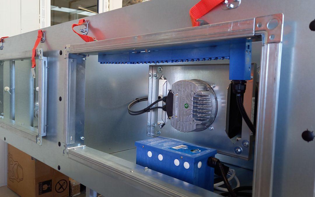 Technologia czystego powietrza w centralach wentylacyjnych Clima Gold