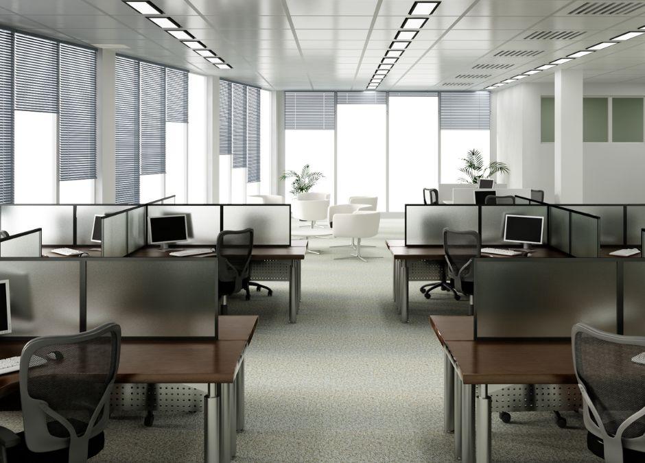 bezpieczeństwo pracowików w biurach podczas pandemii COVID-19