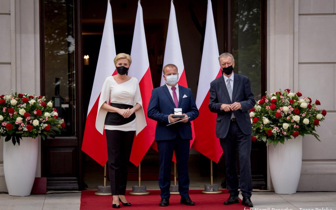 wręczenie nagrody Teraz Polska w Pałacu Prezydenckim